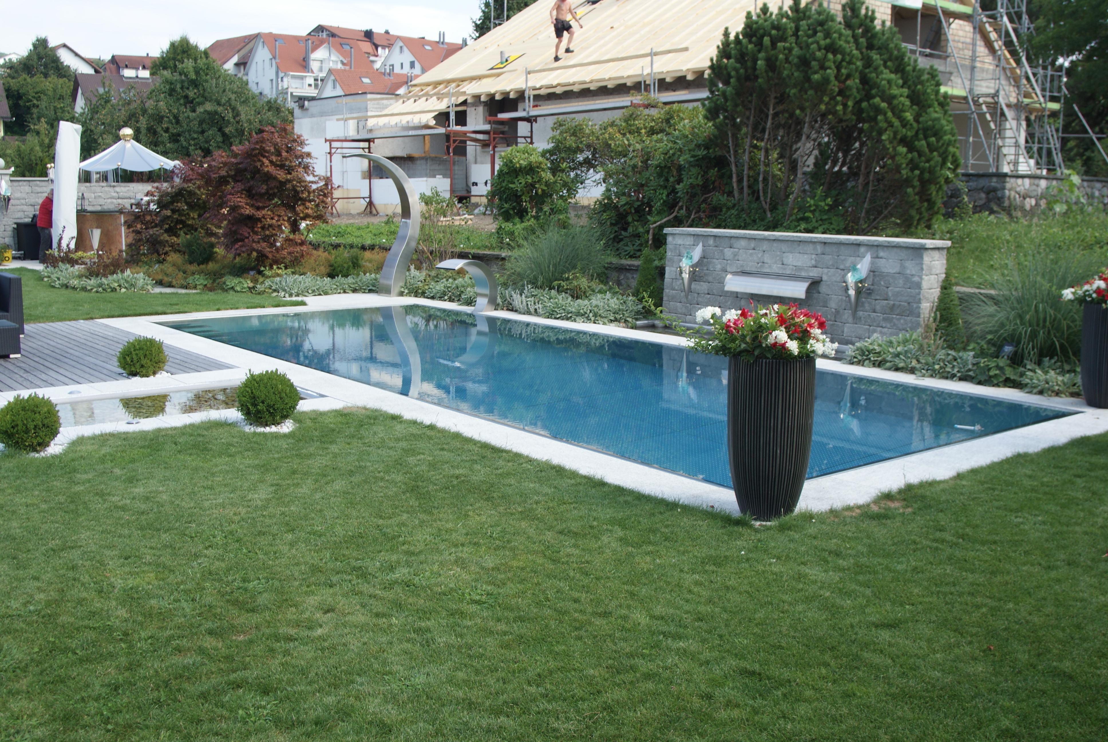 edelstahl pool selber bauen edelstahlschwimmbecken. Black Bedroom Furniture Sets. Home Design Ideas