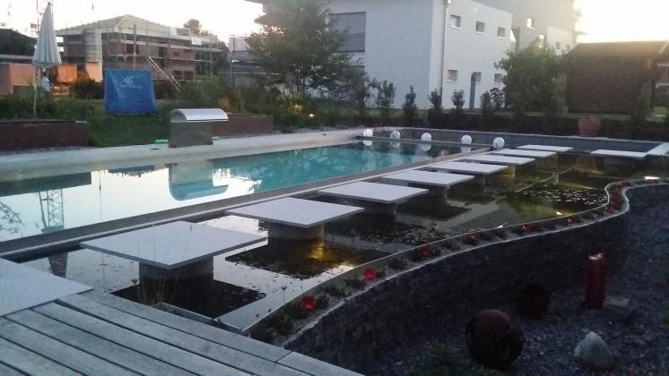 Edelstahlpool chrom line pool for Pool aus stahl
